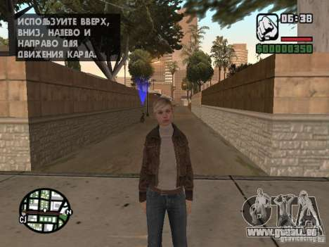 Lucy Stillman in Assassins Creed Brotherhood pour GTA San Andreas