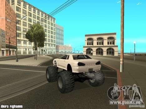 Elegy Monster pour GTA San Andreas vue de droite