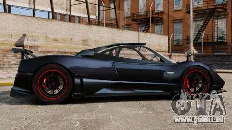 Pagani Zonda Cinque 2009 für GTA 4 linke Ansicht