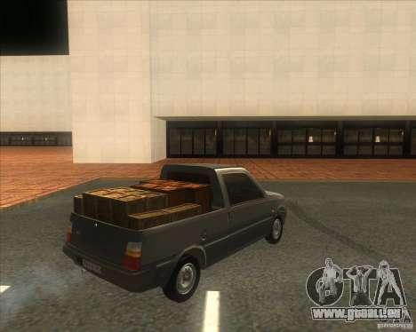 SEAZ Oka Pickup pour GTA San Andreas sur la vue arrière gauche