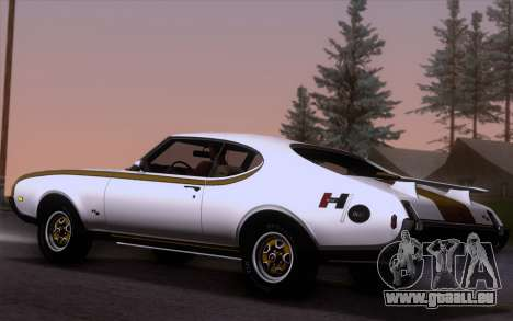 Oldsmobile Hurst/Olds 455 Holiday Coupe 1969 pour GTA San Andreas laissé vue