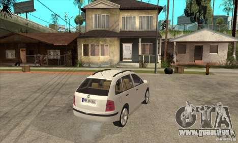 Skoda Fabia Combi pour GTA San Andreas vue de droite
