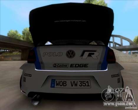 Volkswagen Polo WRC für GTA San Andreas rechten Ansicht