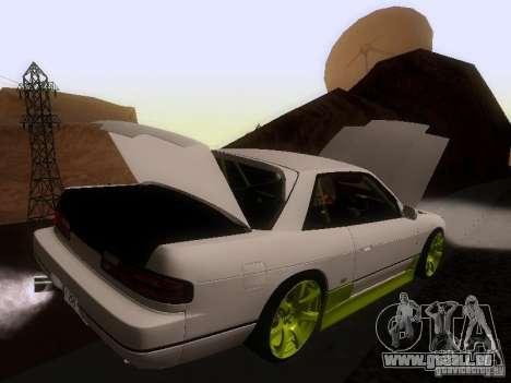 Nissan Silvia S13 Drift Style für GTA San Andreas Räder