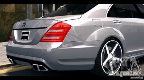 Mercedes-Benz S65 W221 AMG Vossen pour GTA 4 est un droit