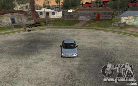 LADA priora léger tuning pour GTA San Andreas laissé vue