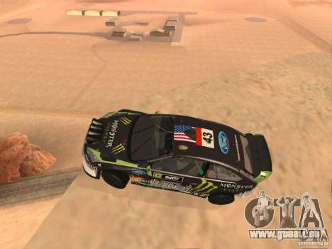 Ford Focus RS2000 v1.1 pour GTA San Andreas laissé vue
