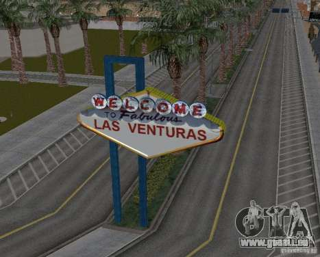 Real New Vegas v1 für GTA San Andreas