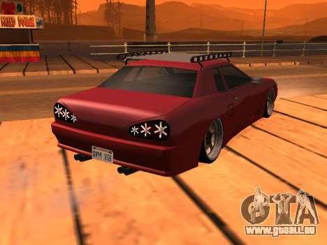 JDM Elegy pour GTA San Andreas laissé vue