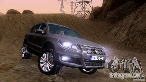 Volkswagen Tiguan 2012 pour GTA San Andreas vue de côté