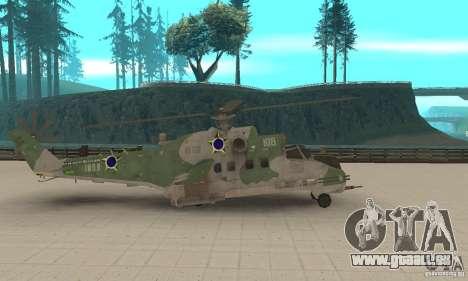 Un hélicoptère de la Shtorm Global du conflit pour GTA San Andreas laissé vue