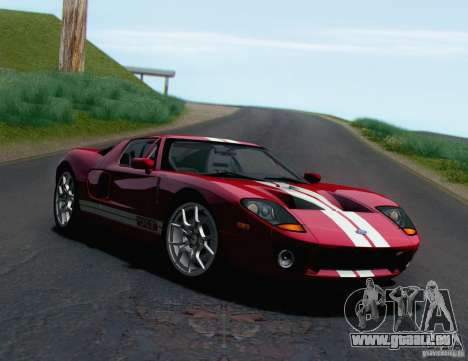 Ford GT 2005 pour GTA San Andreas