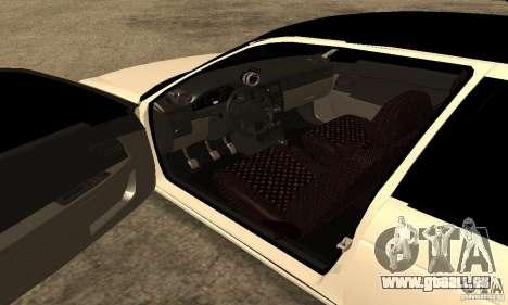Lada 2172 Priora pour GTA San Andreas vue de droite