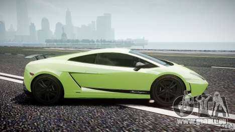 Lamborghini Gallardo LP570-4 Superleggera 2010 für GTA 4 Innenansicht