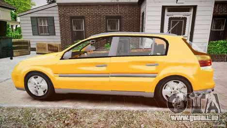Opel Signum 1.9 CDTi 2005 pour GTA 4 est une gauche
