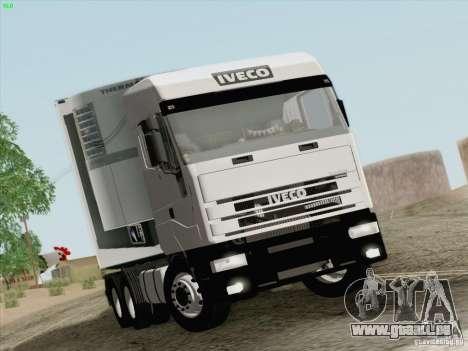 Iveco Eurostar pour GTA San Andreas laissé vue
