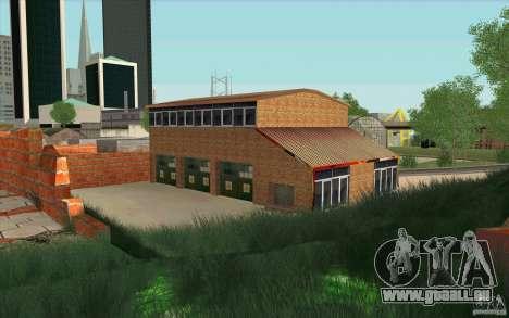 Caserne de pompiers pour GTA San Andreas deuxième écran