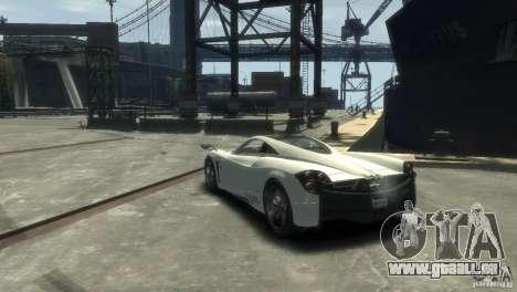 Pagani Huayra für GTA 4 rechte Ansicht