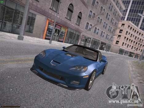 Chevrolet Corvette ZR1 pour GTA San Andreas vue de droite
