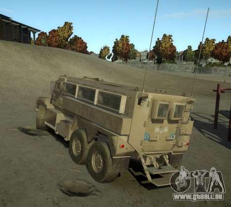 HEMTT Phalanx Oshkosh für GTA 4 linke Ansicht