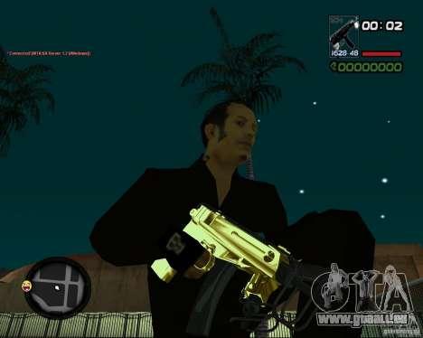 Tec 9 GOLD pour GTA San Andreas