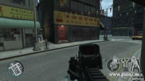 AUG-A3 für GTA 4 dritte Screenshot
