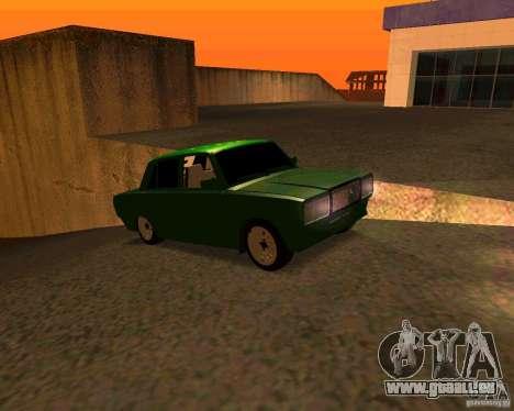 VAZ 2107 Hobo v. 1 für GTA San Andreas rechten Ansicht