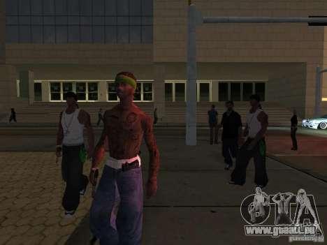 Remplacer toutes les apparences de familles de G pour GTA San Andreas cinquième écran