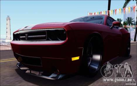 Dodge Challenger Rampage Customs pour GTA San Andreas salon
