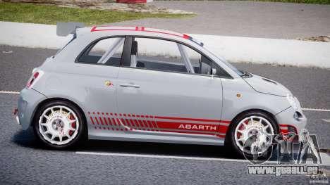 Fiat 500 Abarth für GTA 4 linke Ansicht