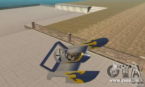 Hydrofoam pour GTA San Andreas vue intérieure