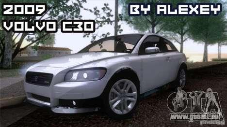 Volvo C30 für GTA San Andreas