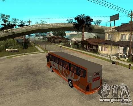 Stadt malaysischen Schnellbus für GTA San Andreas linke Ansicht