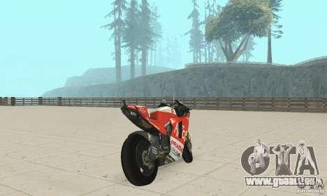 Ducati Alice GP pour GTA San Andreas laissé vue