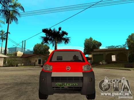 Fiat Fiorino Combi für GTA San Andreas rechten Ansicht