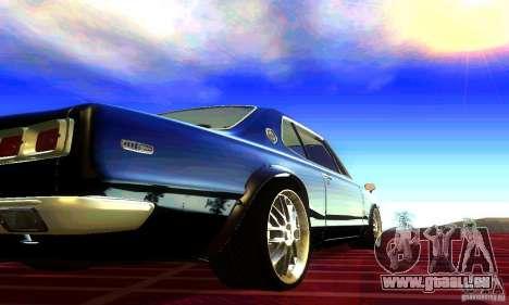 Nissan Skyline 2000-GTR pour GTA San Andreas laissé vue