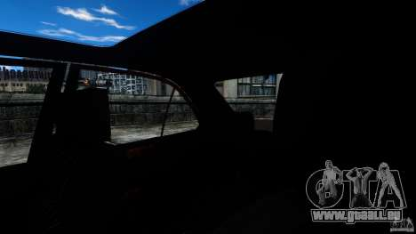 Mercedes-Benz E55 AMG pour GTA 4 est une vue de l'intérieur