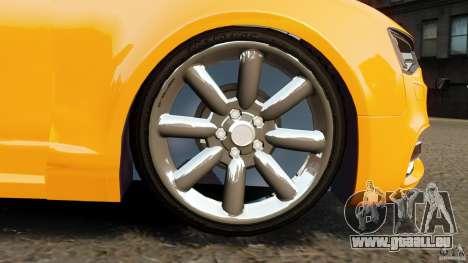 Audi A6 Avant Stanced 2012 v2.0 pour GTA 4 vue de dessus