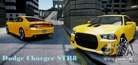 Dodge Charger SRT8 2012 pour GTA 4