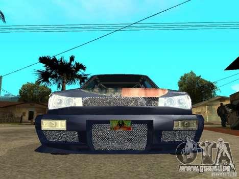 VW Jetta pour GTA San Andreas vue de droite
