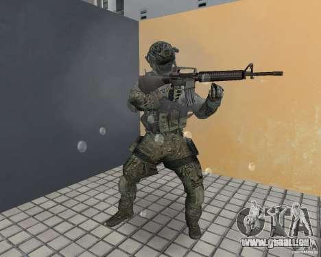 Frost von CoD MW3 für GTA Vice City fünften Screenshot