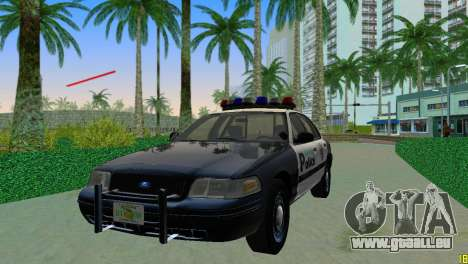 Ford Crown Victoria Police 2003 pour GTA Vice City