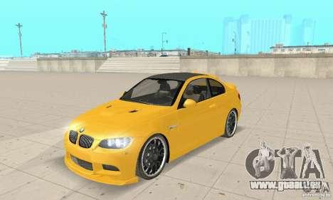 BMW M3 2008 Hamann v1.2 pour GTA San Andreas