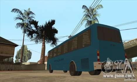 LAZ 52078 (Liner-12) für GTA San Andreas zurück linke Ansicht