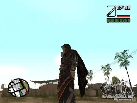Schwert Ezio für GTA San Andreas zweiten Screenshot