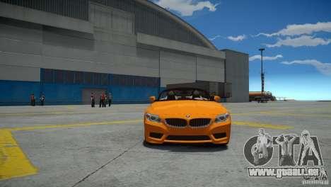 BMW Z4 sDrive 28is für GTA 4 rechte Ansicht