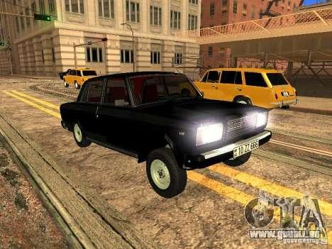 VAZ 2107 ZZ Stil für GTA San Andreas