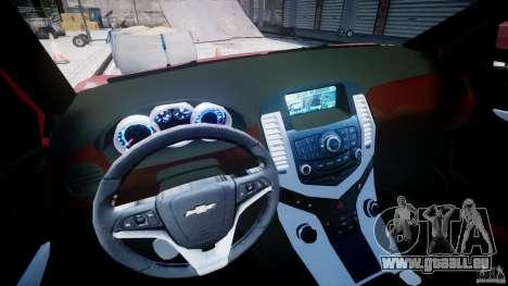 Chevrolet Cruze pour GTA 4 Vue arrière