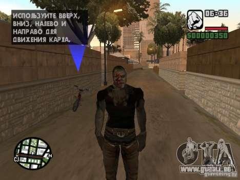 Zombe from Gothic pour GTA San Andreas cinquième écran