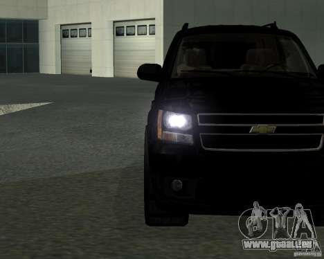 Chevrolet Tahoe BLACK EDITION für GTA San Andreas linke Ansicht